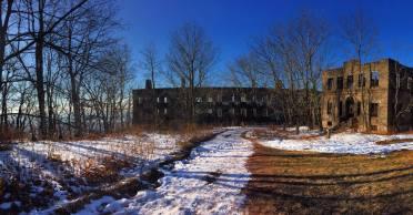 Overlook Hotel Ruins