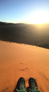 Sunset at Dune 45